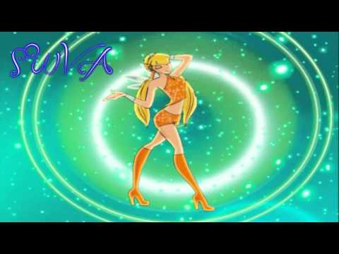 Winx Club Old Transformation With Power Of Charmix Song video