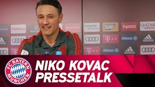 Kompliment, wie jeder Einzelne mitzieht - Pressetalk mit Niko Kovac | Re-Live