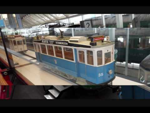SWISS TRANSPORTATION MUSEUM PART 1