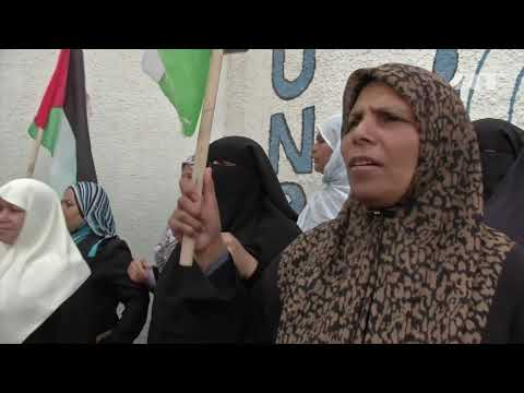 April 13, 2013 Gaza Strip_EU economic crisis causes aid for Palestinian refugees to dry up