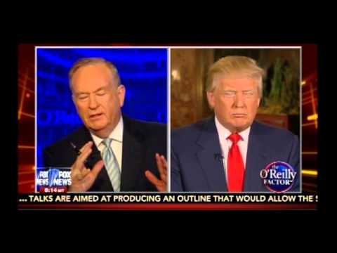 Bill O'Reilly vs Donald Trump: Iran & 2016