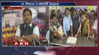 Sri Chaitanya School Students Europe Tour Success Meet held in Hyderabad