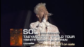 Sol From Bigbang Fear Mino Feat Taeyang Taeyang 2017 World Tour White Night In Seoul