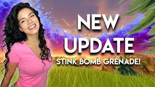 *New Stink Bomb + Update!* Solo Gameplay with Gala *600+ Wins*🗯️ Fortnite Battle Royale Live