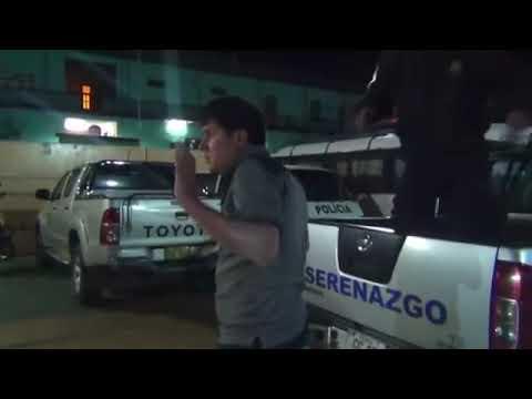 SERENAZGO CAJAMARCA - Tocamientos Indebidos/ Sujeto con arma blanca/ 01-09-14