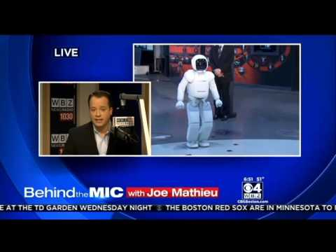 Behind The Mic With Joe Mathieu: Robots That Can Kill You