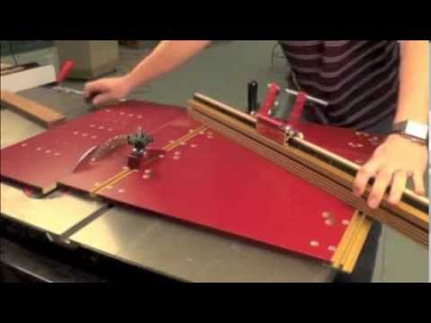 Infinity Cutting Tools - INCRA Miter 5000 Tablesaw Crosscut Sled