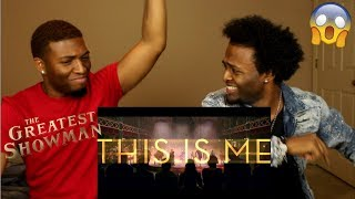 The Greatest Showman - This Is Me [Official Lyric Video] (REACTION)