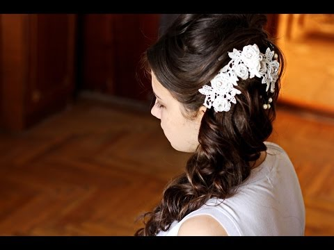 Kelly clarkson wedding hair tutorial