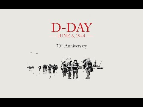 Second World War (WWII) - 70th Anniversary Tribute of D-Day