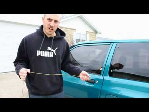 How to Unlock Your Car Using a Coat Hanger