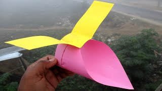 HowTo Make Flying Paper Plane ||