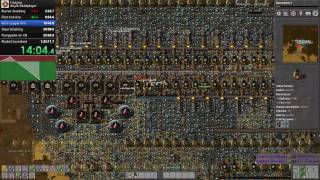 Factorio Speedrun Multiplayer Any% 1:28:00 World record run!