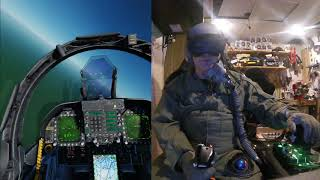 DCS VR Oculus with HGP 55:P and Mask system