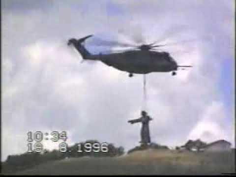 Posa del cristo della Montagna – Cesarò (ME) 19 Agosto 1996