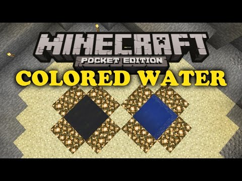 ✔ Colored Water Trick Minecraft PE