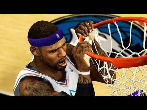 NBA 2k13 My Team : LeBron James Tears Down The Rim   GammaLabs Giveaway!!! Ep.24