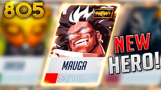 HERO 31: MAUGA!! *NEW TANK*?! | Overwatch Daily Moments Ep.805 (Funny and Random Moments)