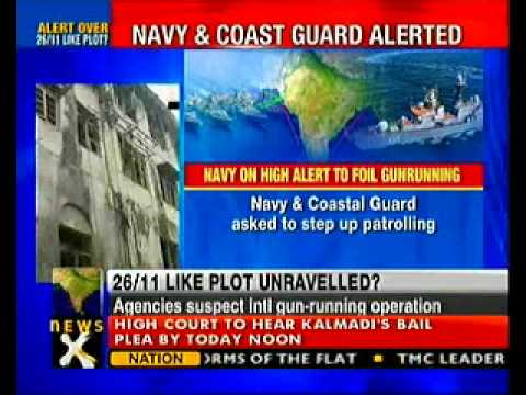 Navy on alert after intercepting arms drop phone-call