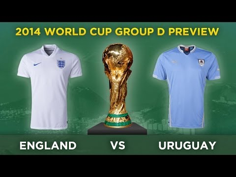 ENGLAND v URUGUAY | 2014 World Cup Group D Preview