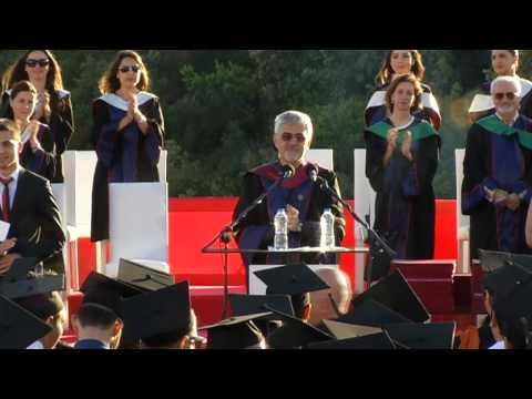 Özyeğin Üniversitesi 2013 Mezuniyet Töreni Rektör Prof. Dr. Erhan Erkut'un Konuşması