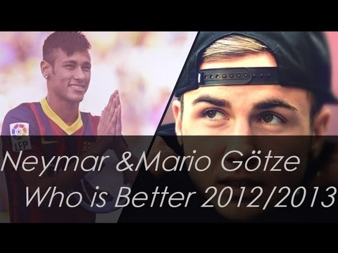 Neymar & Mario Götze I Welcome to Bayern Munich  I HD I