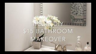 (8.55 MB) HOME DIY - $15 BATHROOM VANITY MAKEOVER Mp3