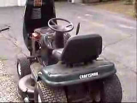 $50 of awesomeness: Our new Craftsman LT1000 lawn tractor