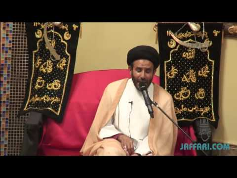 Maulana Syed Husain Ali Nawab 2014 Wiladat of Bibi Fatima AS