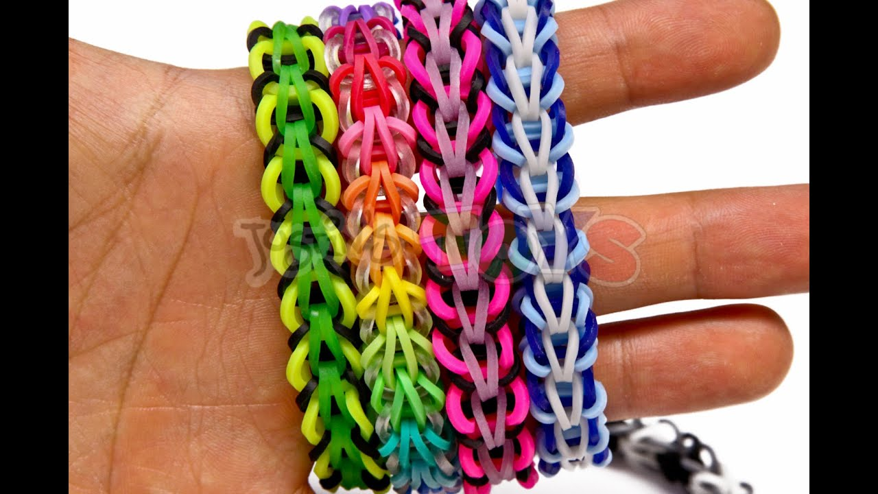 loom bands instructions youtube