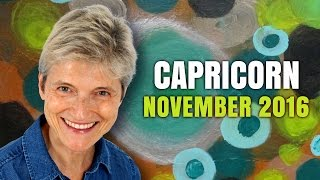 Capricorn November 2016 | Abundance and Wealth are coming your way