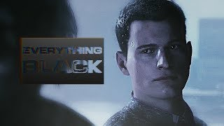 """✘ Connor """"RK800""""    Everything Black ᴴᴰ [#GMV] Detroit: Become Human"""