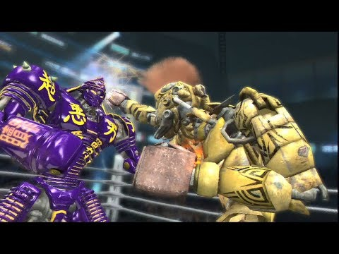 REAL STEEL THE VIDEO GAME [XBOX360/PS3] - MIDAS vs NOISY BOY