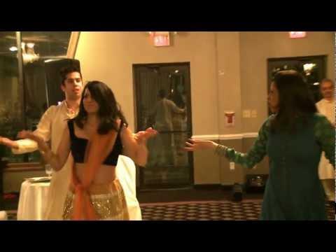 Gangnam Style Flash Mob Dougie Dance (Bollywood Style) - Indian Wedding Sangeet of Rohan & Charishma