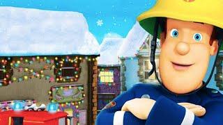 Fireman Sam US | Snowy Christmas Holiday's 🎅 ☃️ | Cartoons for Children | Kids TV Shows