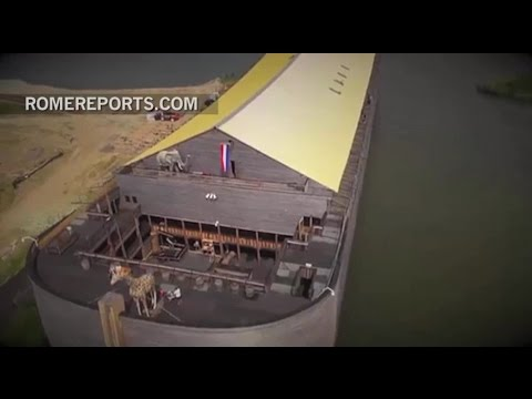 The Bible comes to life with exact replica of Noah's Ark