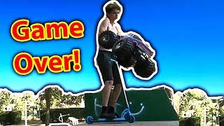 Giant RC Car Hits Kid  - Epic RC Bash Day out