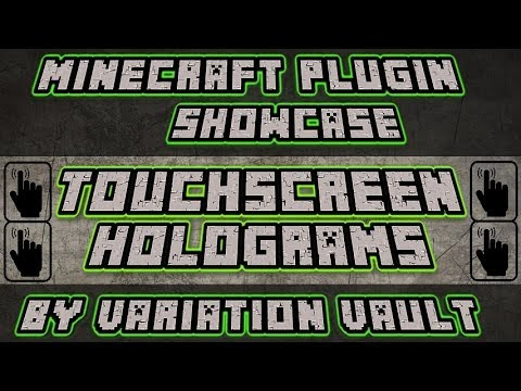 how to set holograms in minecraft