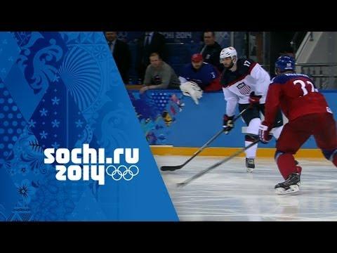 Ice Hockey - Men's Quarter-Final - USA v Czech Republic   Sochi 2014 Winter Olympics