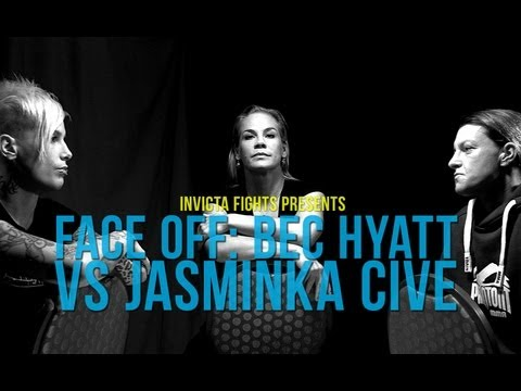 INVICTA FC FACE-OFF: Bec Hyatt vs Jasminka Cive