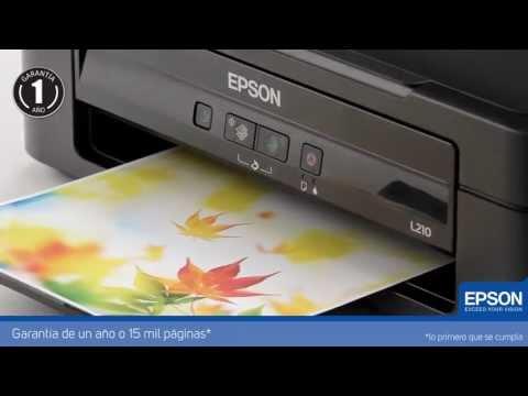 Impresora Multifuncional Epson L210 con Tanque de Tinta