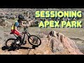 Sessioning Apex Park in Golden, CO | Sprocket Girl Women's Mountain Biking