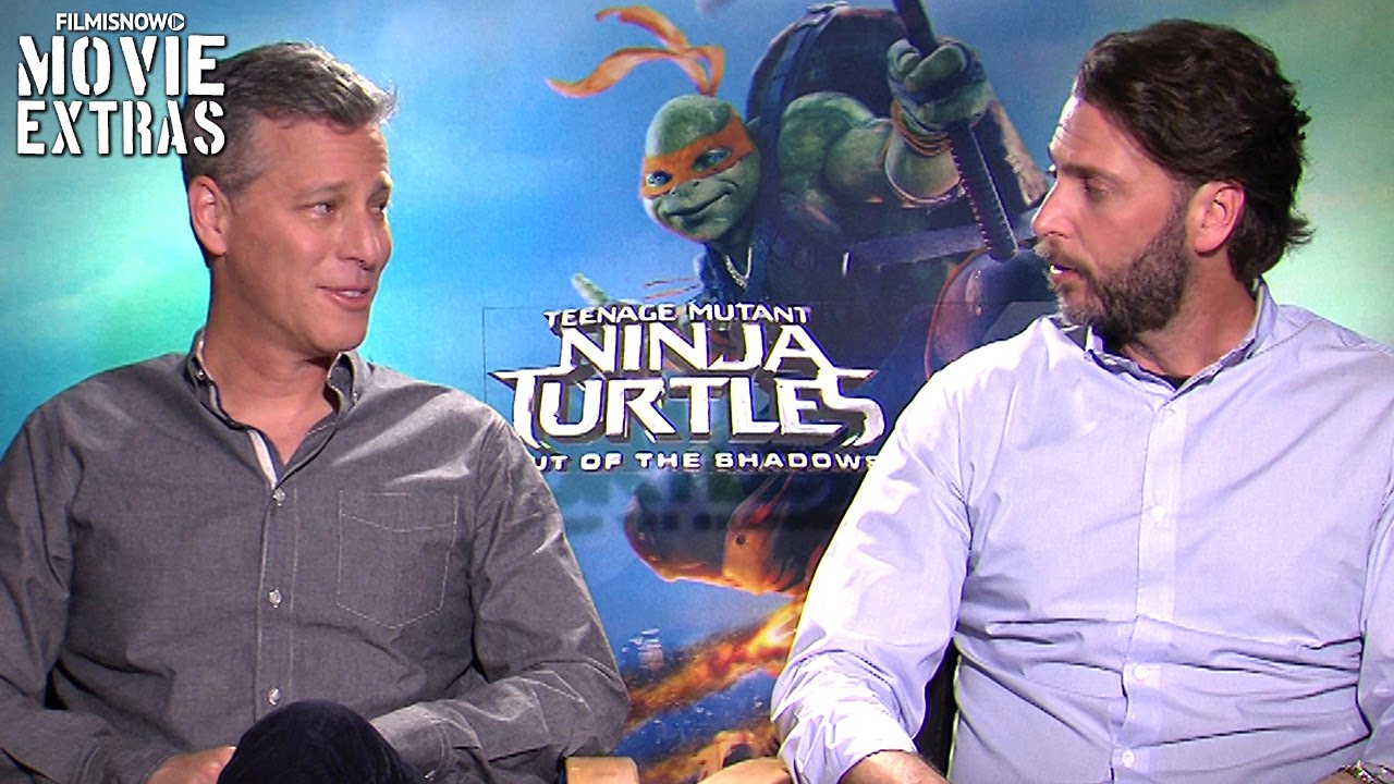 Brad Fuller & Andrew Form talk about TMNT 2: Out of the Shadows (2016)