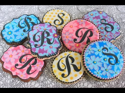Advanced Cookie Stenciling