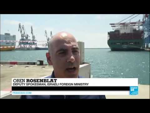 Turkey aid ship: Turkish ship carrying aid for Gaza reaches Israel