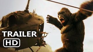 KING KONG 360° VR Trailer (2017) Helicopter Crash Movie Scene HD