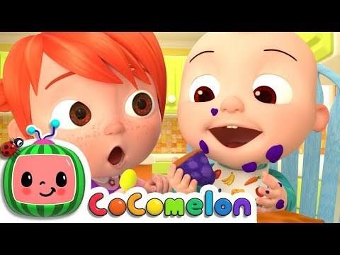 No No Table Manners Song | ABCkidTV Nursery Rhymes & Kids Songs