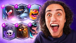 99.99% WIN RATE! BEST DECK IN THE GAME! (Clash Royale)