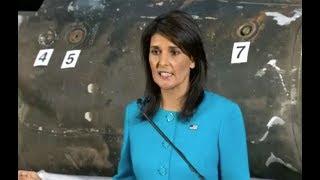 "BREAKING: UN Ambassador Nikki Haley URGENT Briefing to unveil ""previously classified information"
