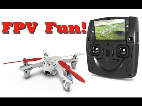 FPV Quadcopter Review- Hubsan H107D